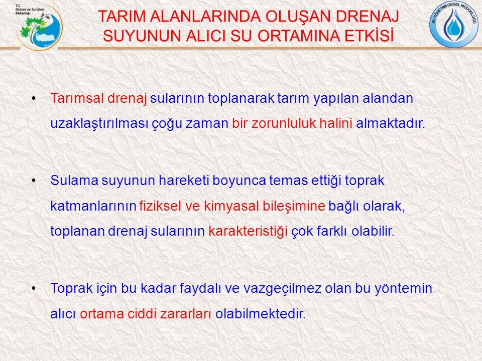 Türkiye'de % 80'inin yüzey sulama sistemlerinden oluştuğu göz önüne alındığında, tarımsal sulama ve drenaj alanında su yönetiminin önemi açıkça görülmektedir.