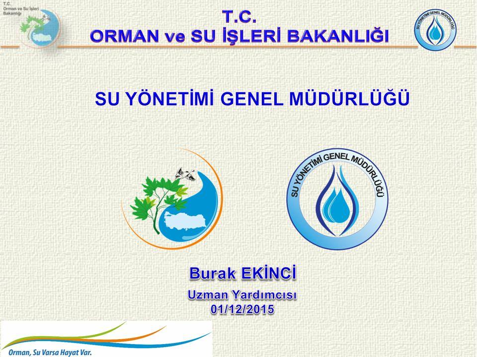  Su Yönetimi Genel Müdürlüğü Görevleri  Türkiye de Su kullanımı  Su Verimliliği  İçme Suyu Alanında Su Verimliliği Çalışmaları  Sulama Sistemlerinde Su Kullanımının Kontrolü ve Su Kayıplarının Azaltılmasına İlişkin Yönetmelik Taslağı İÇERİK