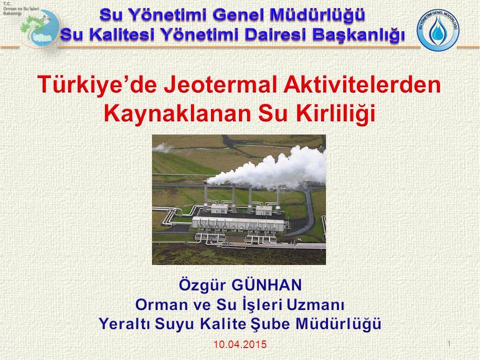 Jeotermal Kaynaklar ve Doğal Mineralli Sular Kanunu Uygulama Yönetmeliği (Madde 23) KAYNAK REZERVUARININ KORUNMASI (Madde 23) Kaynak koruma alanı etüdü; jeoloji ve hidrojeoloji çalışmaları, çevre mevzuatında yer alan kriterlere göre yüzeysel kirletici unsurların belirlenmesi, jeotermal sistemin unsurlarını oluşturan beslenme alanı, rezervuar, örtü kaya, ısıtıcı kaya, kaynak çıkış alanı belirlenmesi, kaynağın kirletici unsurlardan korunması amacıyla, koruma alanı zonları ve bu zonlarda alınması gereken tedbirleri içerir.