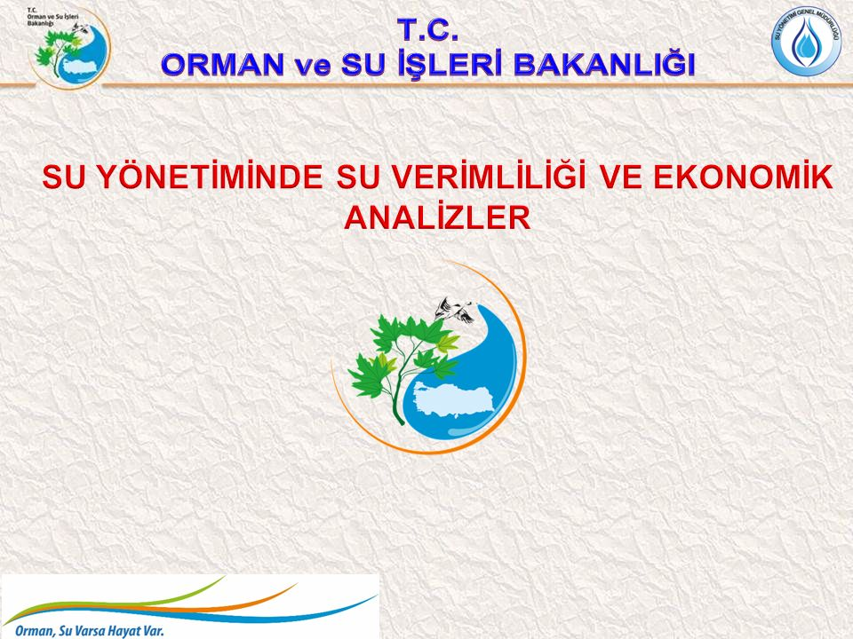 12 SU VERİMLİLİĞİ 12 09-10 Haziran 2014 tarihlerinde Ankara'da Tarımsal Su Kayıplarının Kontrolü Çalıştayı yapılmıştır.