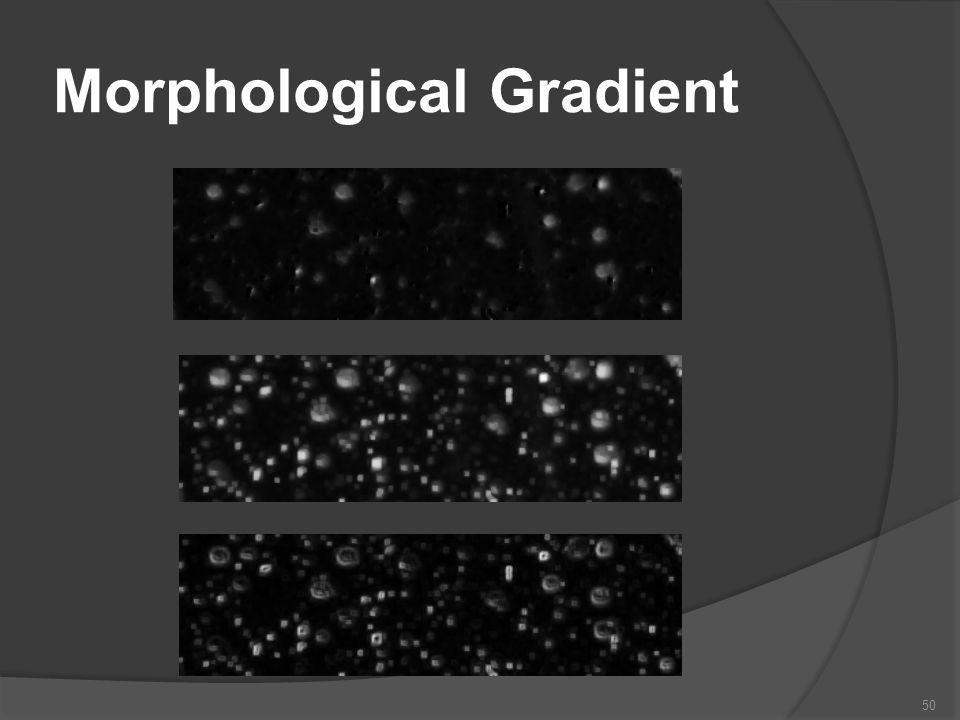 Morphological Gradient 50
