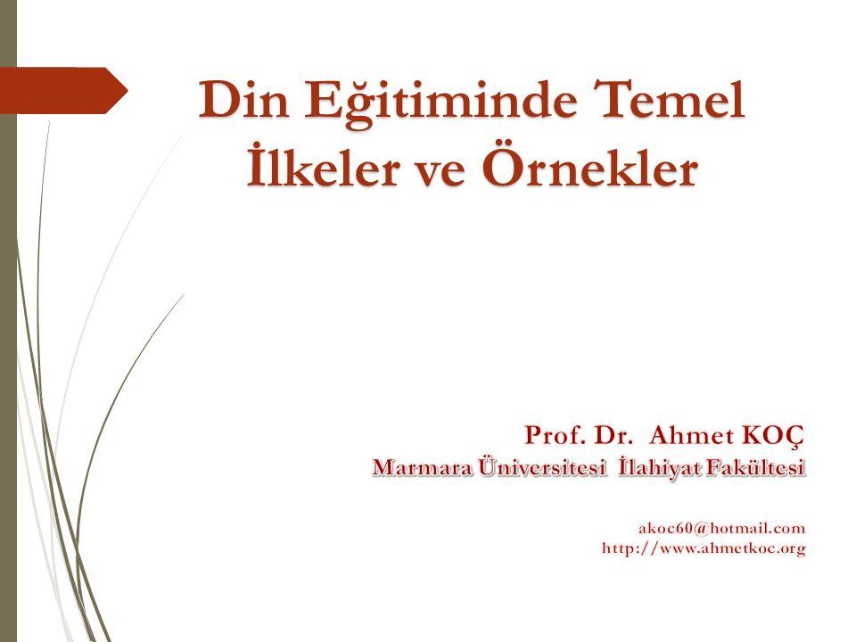 Türkiye'de Dini Hayat» Ara ş tırması D İ B-TÜ İ K « Türkiye'de Dini Hayat» Ara ş tırması D İ B-TÜ İ K (2014) Müslüman: % 99,2 Oldukça dindar %19 - % 68 dindar - %10 ne dindar ne değil Vakit namazlarını her zaman kılan: % 42,5 kadın - yaşlı - okuma yazma bilmeyen - kırsal Vakit Namazlarını hiç kılmayanlar : % 17 Cuma Namazını devamlı kılan erkekler: % 57 Sağlığı yerinde olanlardan Ramazan Orucu: % 83 Kuran-ı Kerimi okuyabilenler: % 42 kent- genç (18-24 yaş % 48; 65 ve üstü % 32) - lisans ve üstü, erkekler % 32; kadınlar % 50 Kur'an'ı hiç eline almamış olanlar: % 12