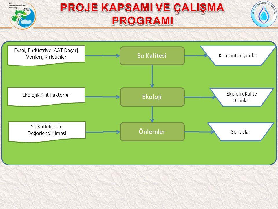 Hidrolojik, Su Kalitesi ve Ekolojik Modelleme Su Kalitesi Modeli Hidrolojik Model