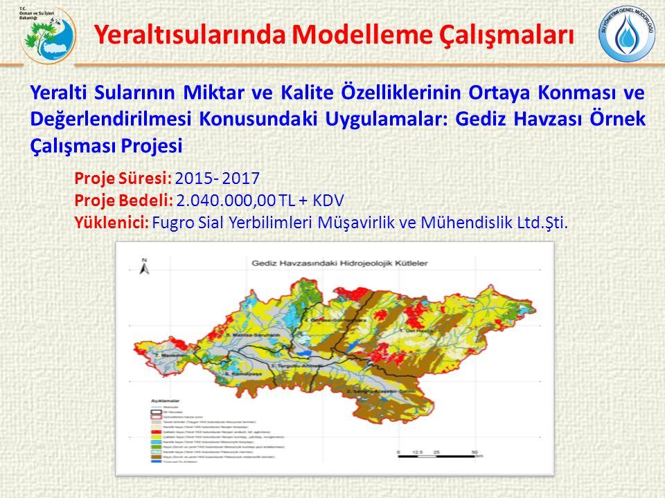 Proje Süresi: 2015- 2017 Proje Bedeli: 2.040.000,00 TL + KDV Yüklenici: Fugro Sial Yerbilimleri Müşavirlik ve Mühendislik Ltd.Şti.
