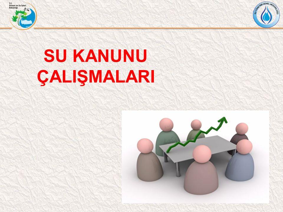 SU KANUNU ÇALIŞMALARI