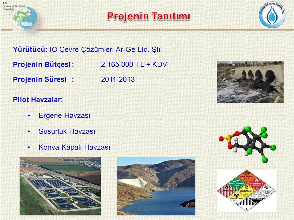 C maks C min Birim Organikler1000,0001µg/L Metaller2000,2µg/L İzleme Bazlı Değerlendirme