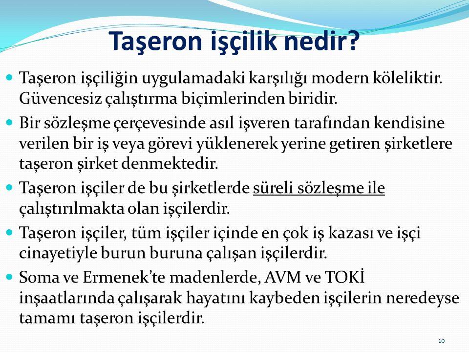 Cumhurbaşkanı Erdoğan: Memnun değilseniz kapıya koyarsınız! Siyasi iktidar tarafından kamu emekçilerinin iş güvencesi yeniden hedef tahtasına konulmuş
