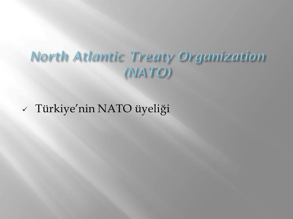 Türkiye'nin NATO üyeliği