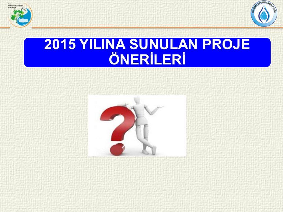 2015 YILINA SUNULAN PROJE ÖNERİLERİ