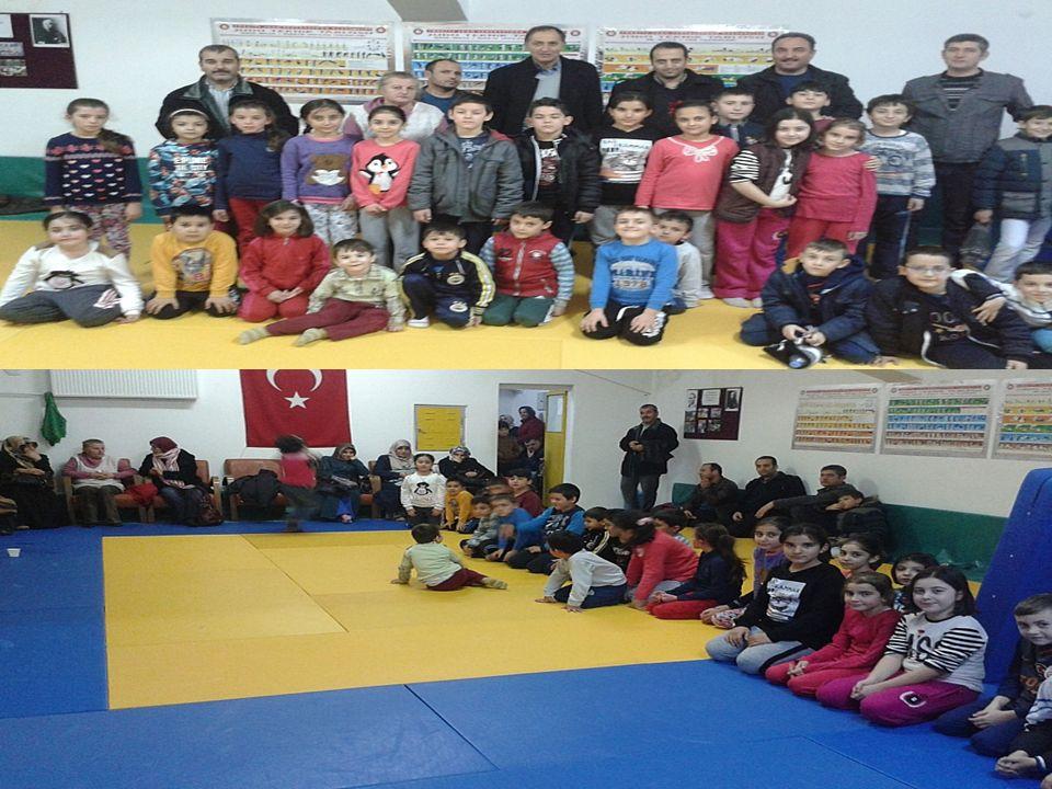 Karatekin İlkokulu Çankırı Milli Eğitim Müdürlüğünün uygulamaya koyduğu Sosyal Okul Projesi kapsamında öğrencilerine yönelik olarak Gençlik Hizmetleri Spor Müdürlüğü bünyesinde 43 öğrencisine ücretsiz olarak Judo kursu açtırdı