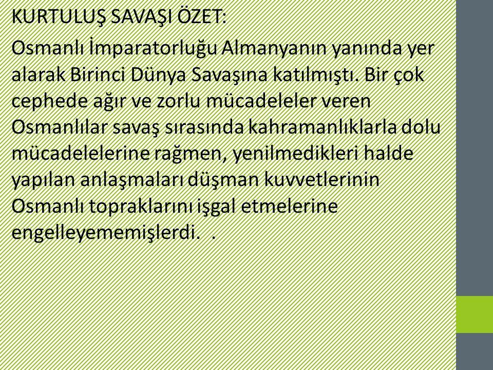 Son Osmanlı Hükümdarı Sultan Mehmed Vahidüddin Han Osmanlı Mebusan Meclisi'nin toplanmasına karar verdi.