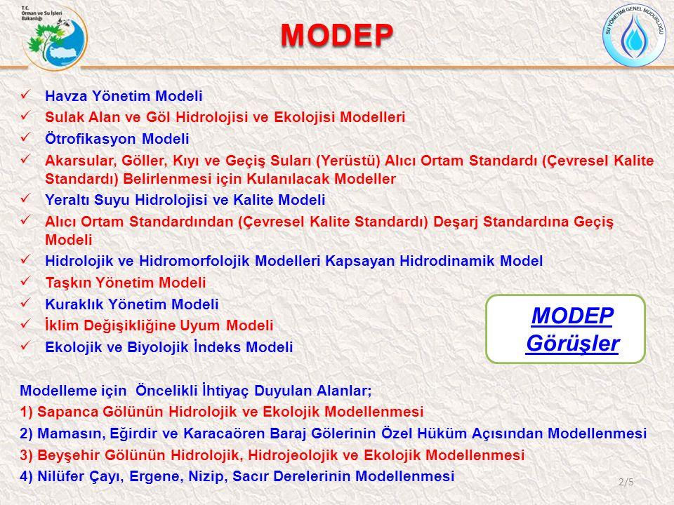 MODEP GÖRÜŞLER 3/5 Prof.Dr.