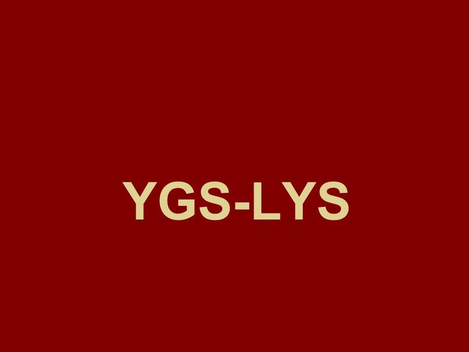 YGS 1 PUANIYLA ALAN BÖLÜMLER(lisans) Aktüerya (YO) Bilgisayar Teknolojileri.