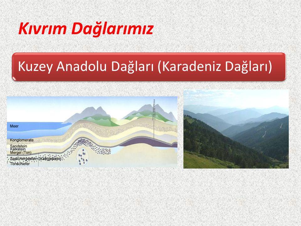 Kıvrım Dağlarımız Kuzey Anadolu Dağları (Karadeniz Dağları)