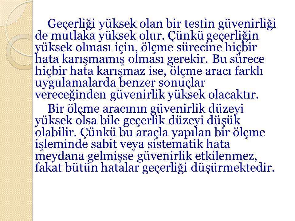 ÖRNEKLEME ÇEŞİTLERİ 1.