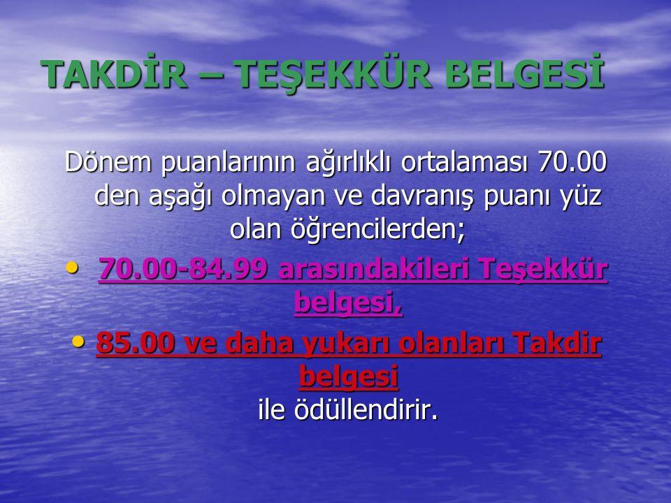 MESLEK SEÇİMİ İLE BİRLİKTE 10.