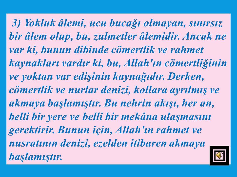 2) Bu lafız, bu yardımı, Hz. Muhammed (s.a.v)'e iştiyak içinde gibi olduğuna delalet etmektedir. Zira bu yardım, Cenâb-ı Hakk'ın va'di gereği, Hz. Pey