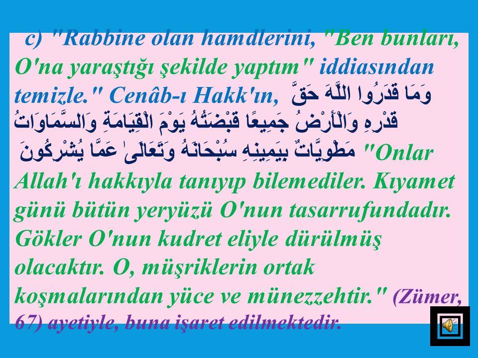 6) Süddî, بِحَمْدِ رَبِّكَ ifadesinin,