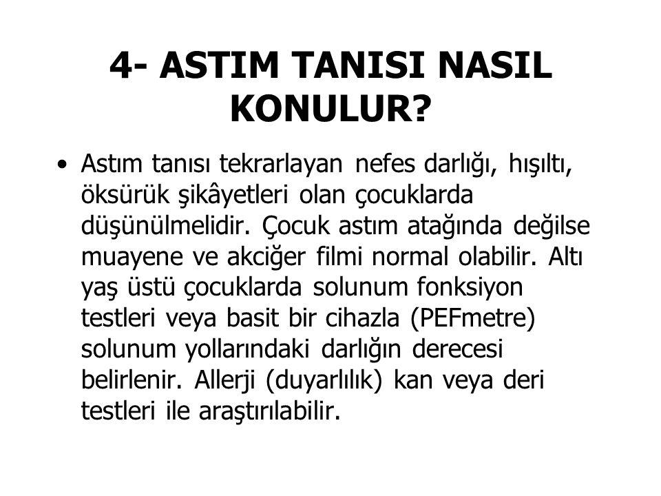 4- ASTIM TANISI NASIL KONULUR.