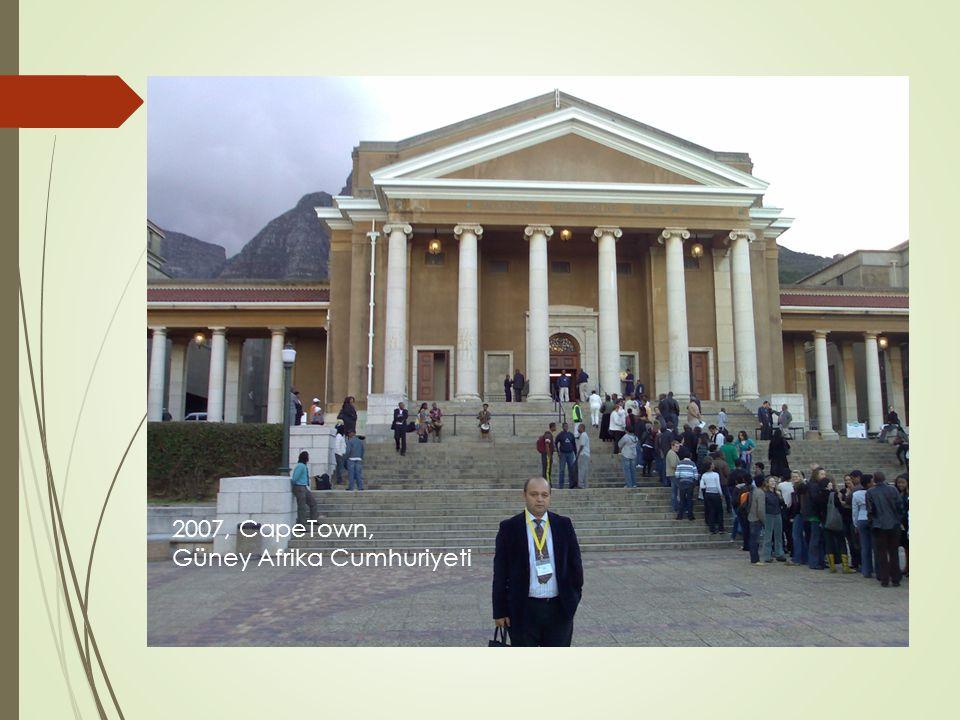 2007, CapeTown, Güney Afrika Cumhuriyeti
