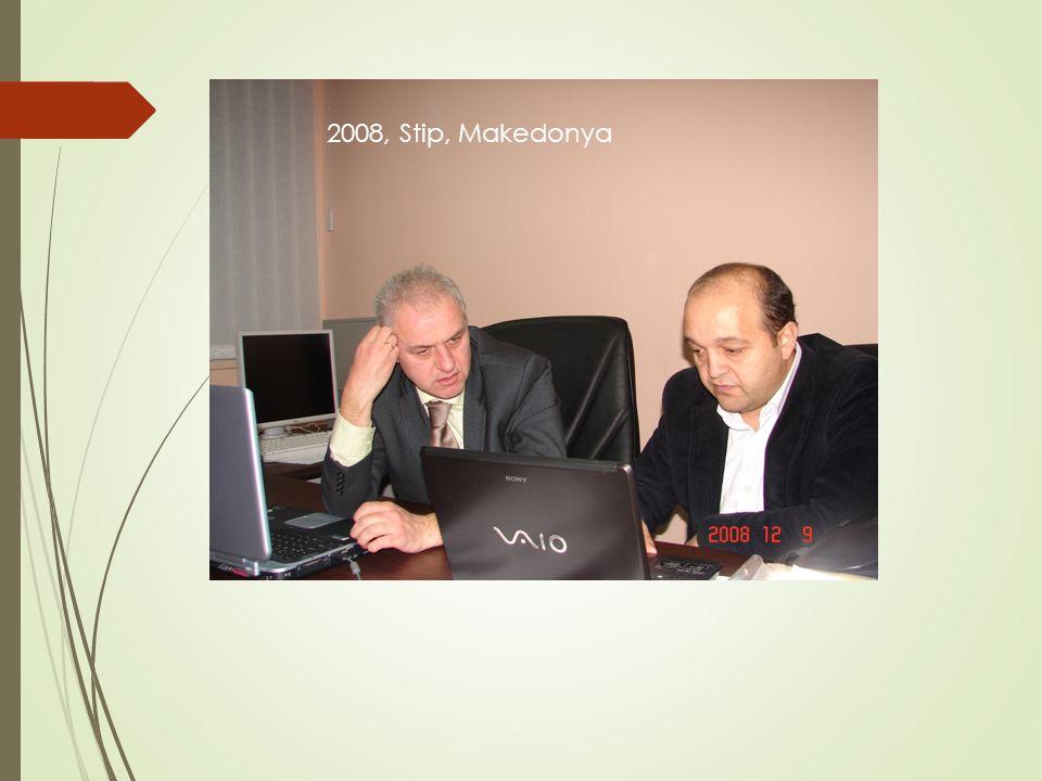 2008, Stip, Makedonya