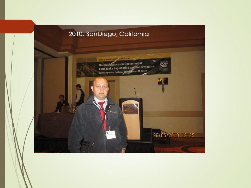 2010, SanDiego, California