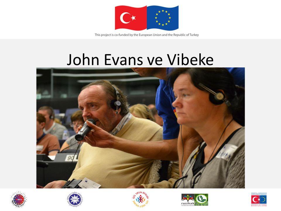 John Evans ve Vibeke