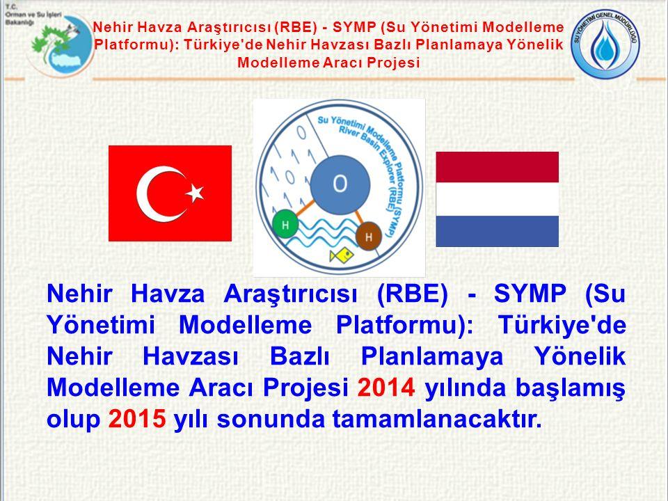 Nehir Havza Araştırıcısı (RBE) - SYMP (Su Yönetimi Modelleme Platformu): Türkiye'de Nehir Havzası Bazlı Planlamaya Yönelik Modelleme Aracı Projesi 201