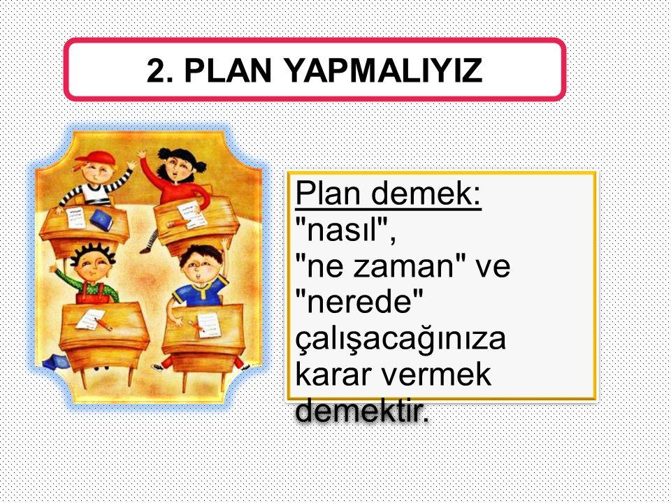 Plan demek: