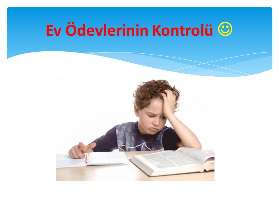Ev Ödevlerinin Kontrolü