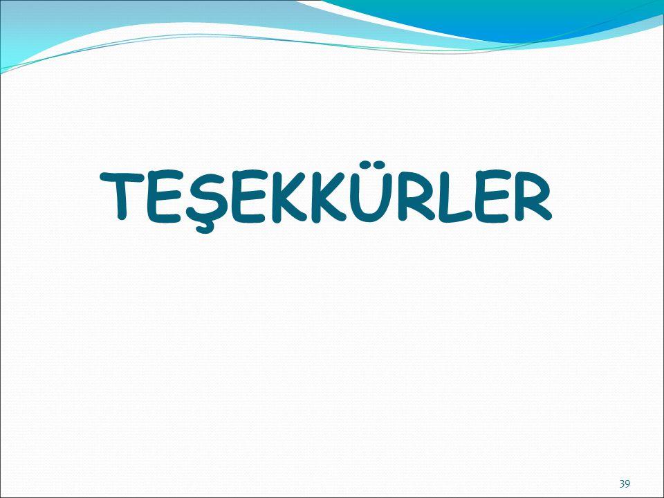 TEŞEKKÜRLER 39