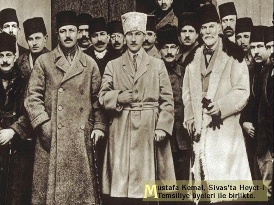 Ali Rıza Paşa Kabinesi ve Amasya Görüşmeleri Ali Rıza Paşa Kabinesi ve Amasya Görüşmeleri Ali Rıza Paşa kabinesinin kurulmasından sonra,İstanbul ile i