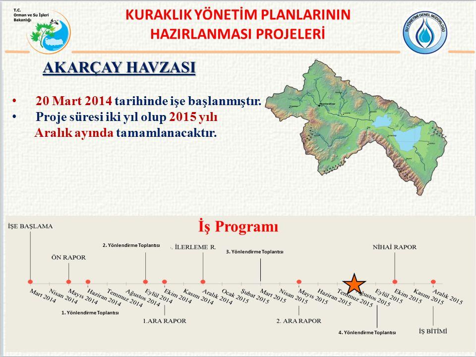 20 Mart 2014 tarihinde işe başlanmıştır.