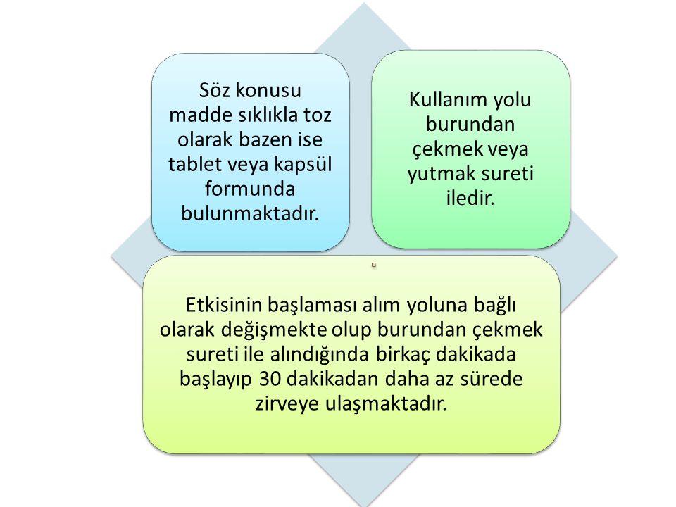 Söz konusu madde sıklıkla toz olarak bazen ise tablet veya kapsül formunda bulunmaktadır.