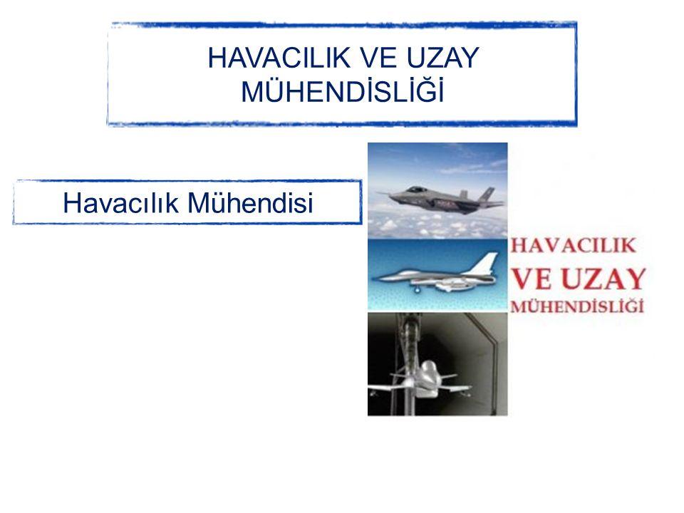 HAVACILIK VE UZAY MÜHENDİSLİĞİ Havacılık Mühendisi