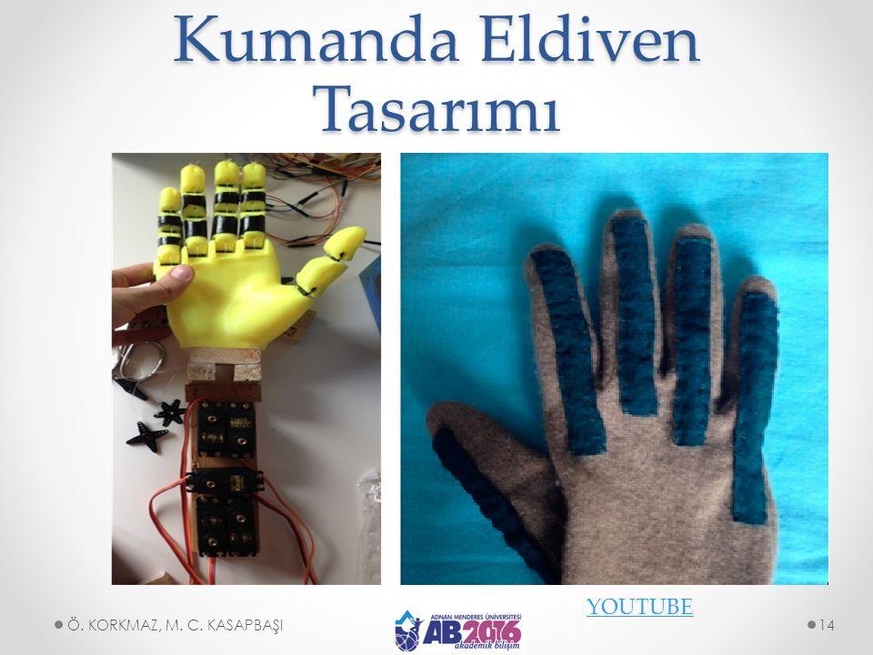 Kumanda Eldiven Tasarımı YOUTUBE Ö. KORKMAZ, M. C. KASAPBAŞI14