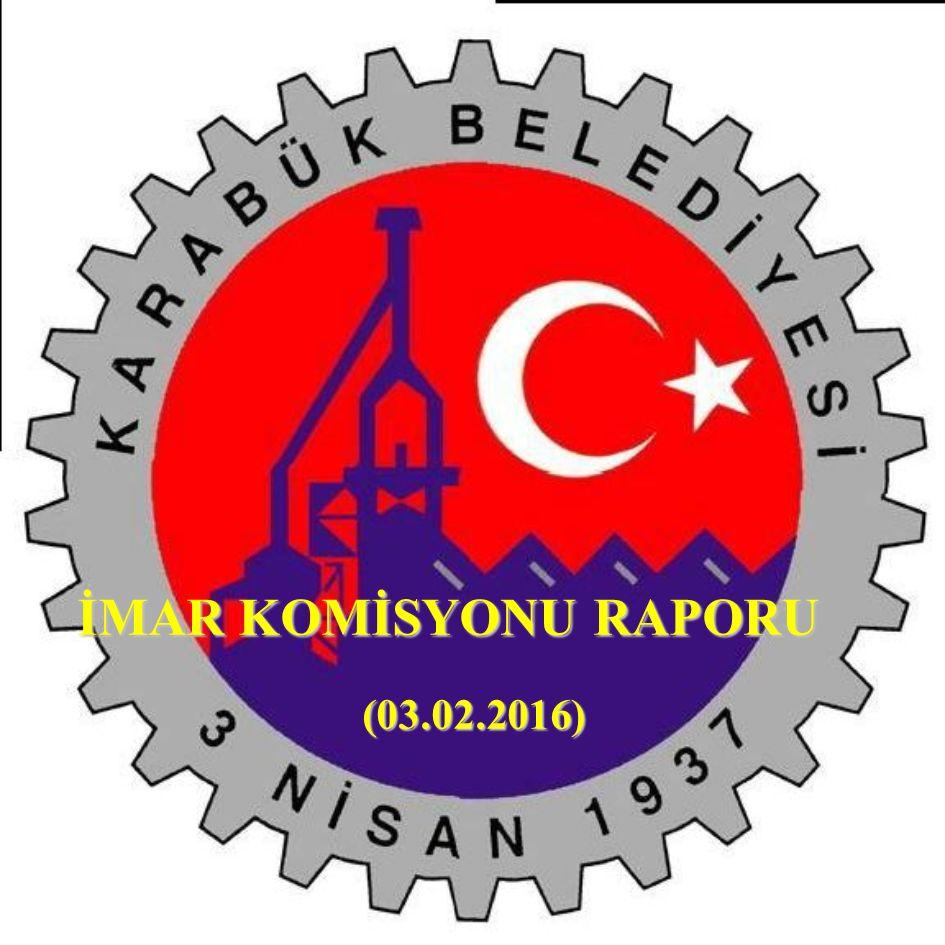 İMAR KOMİSYONU RAPORU (03.02.2016)