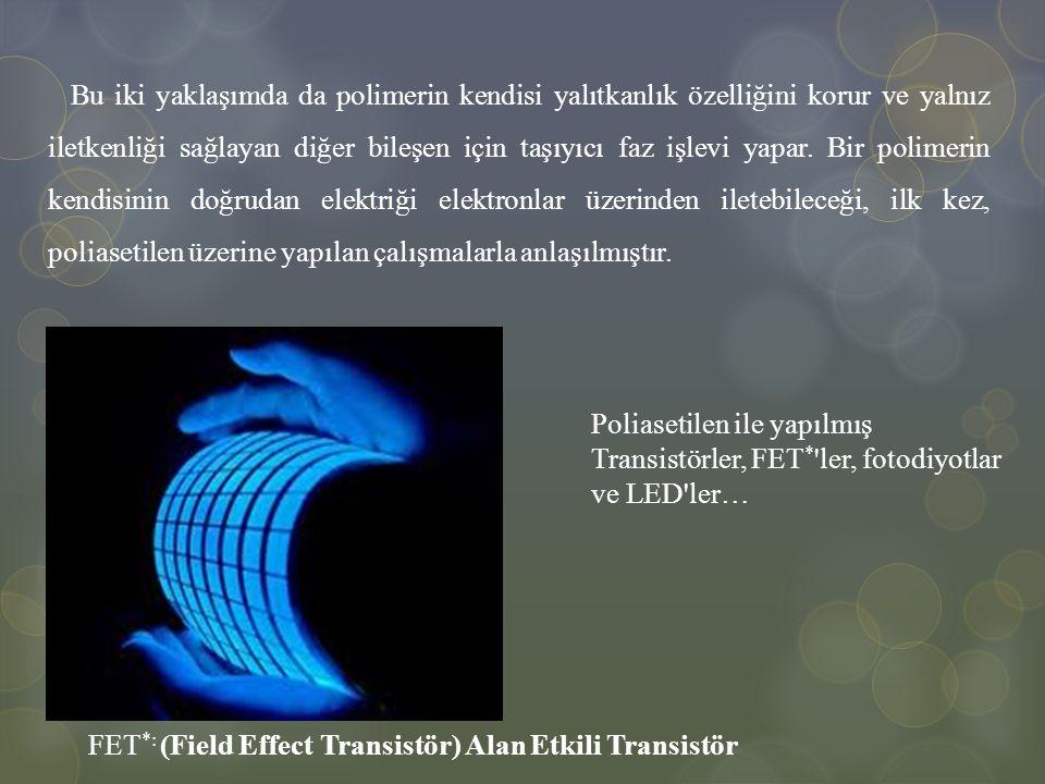 İletken polimerler, elektronik iletkenliklerinin bir sonucu olarak düşük frekanslardaki enerjiyi absorplayabilirler.