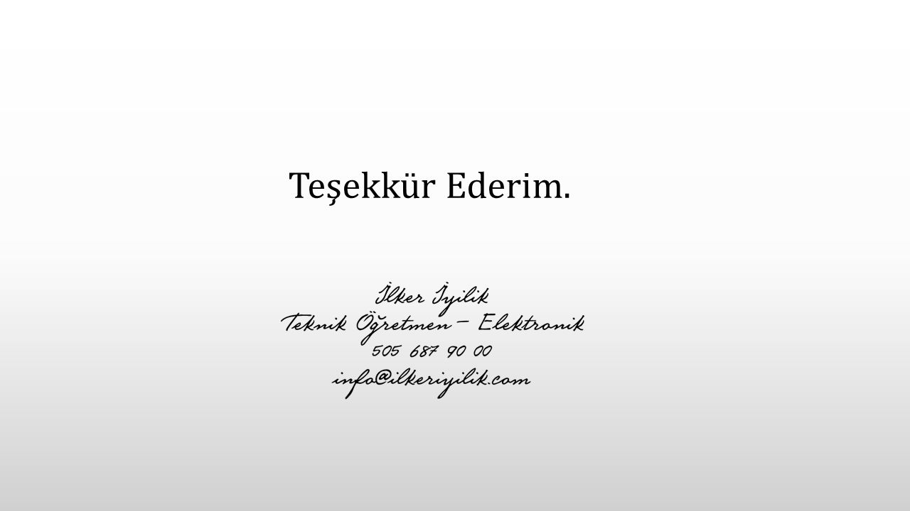 Edit the text with your own short phrases. The animation is already done for you; just copy and paste the slide into your existing presentation. Teşek