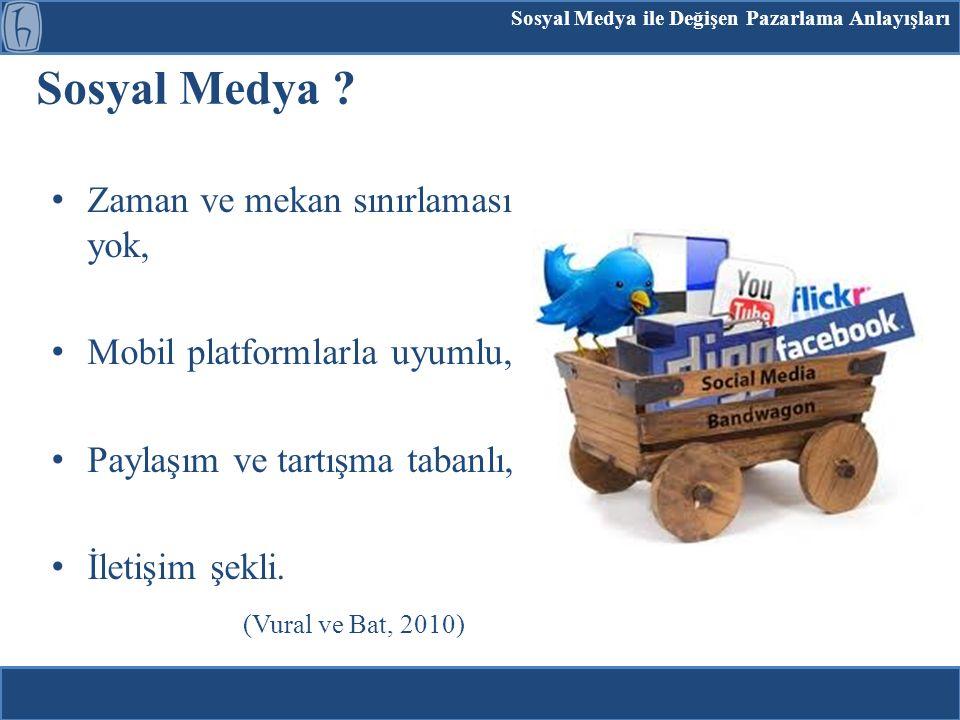 Sosyal Medya Pazarlaması ve Bilgi Hizmetleri Bilgi Merkezleri ?.