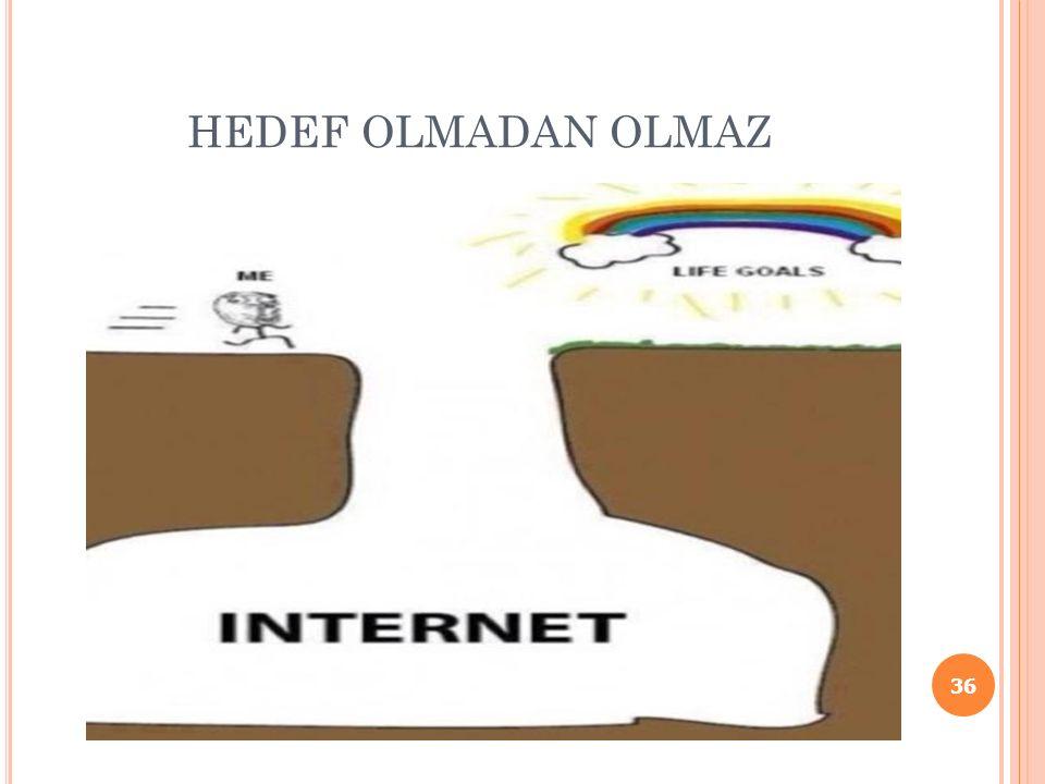 HEDEF OLMADAN OLMAZ 36