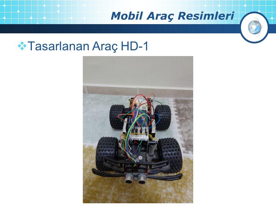 Mobil Araç Resimleri  Tasarlanan Araç HD-1