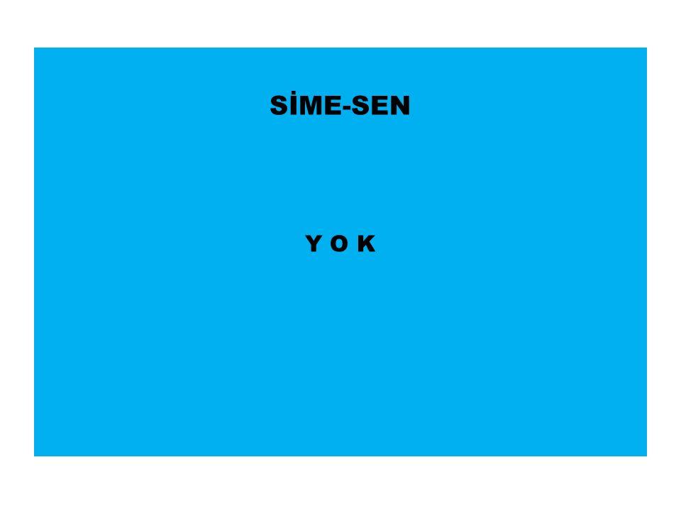 SİME-SEN Y O K