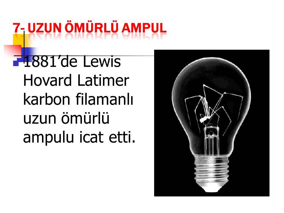 1927 yılında ampullerden daha uzun ömürlü ve daha verimli olan floresan lamba icat edildi.İçindeki gaz, elektrik enerjisinin etkisiyle ışık yayar.