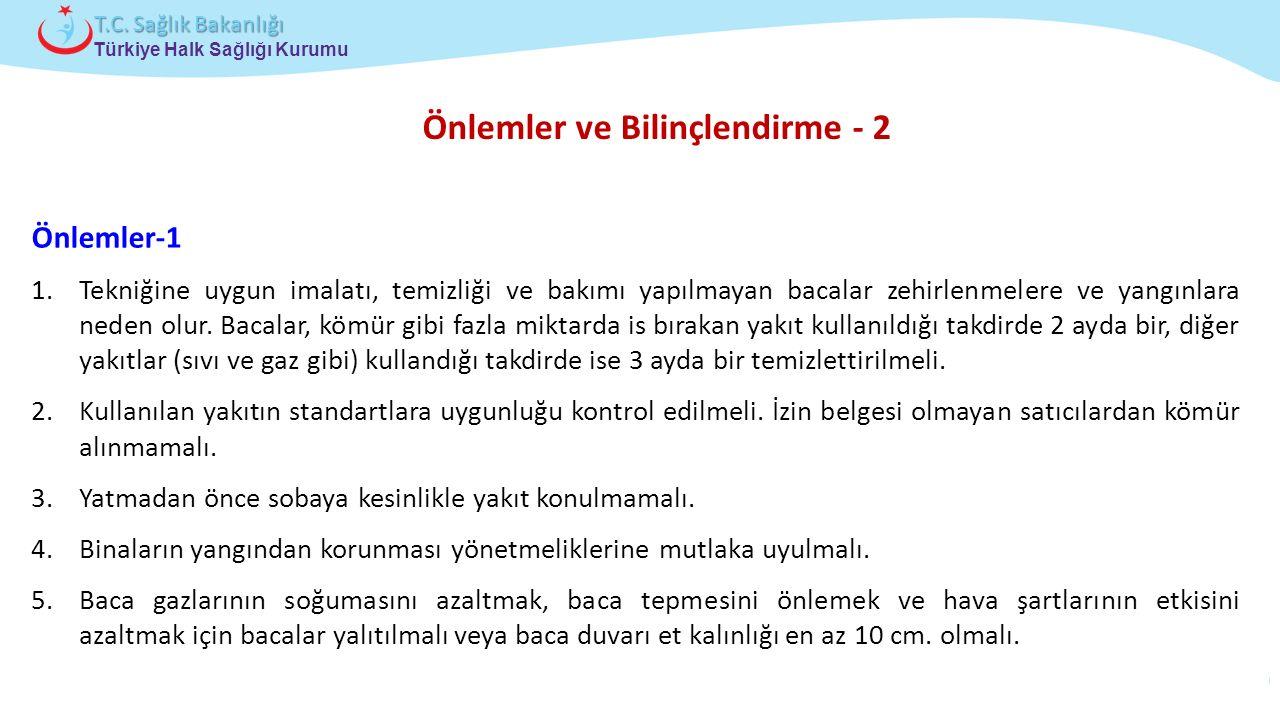 Çocuk ve Ergen Sağlığı Daire Başkanlığı Türkiye Halk Sağlığı Kurumu T.C. Sağlık Bakanlığı Önlemler ve Bilinçlendirme - 2 Önlemler-1 1.Tekniğine uygun