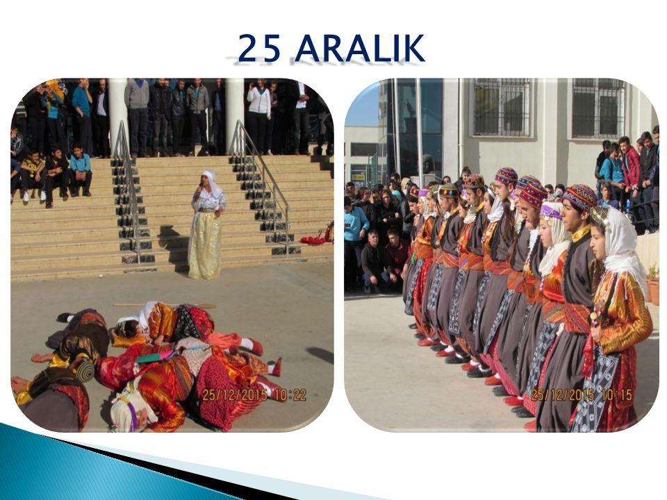 25 ARALIK