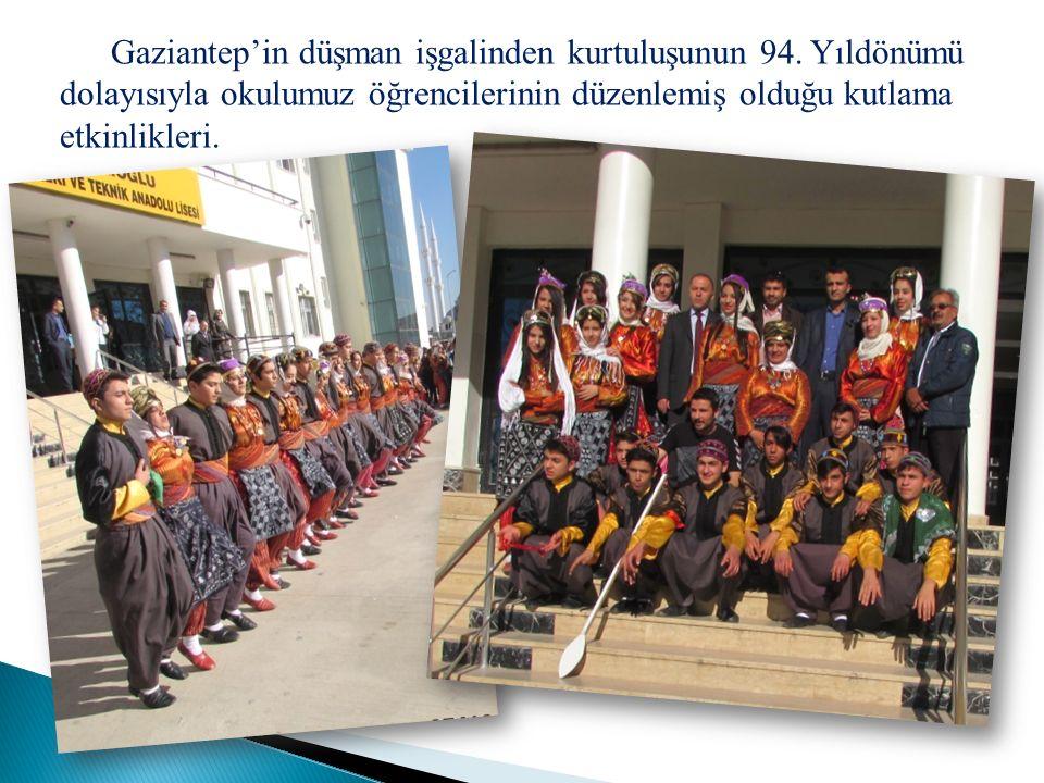 Gaziantep'in düşman işgalinden kurtuluşunun 94.