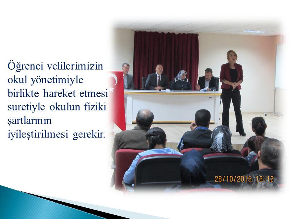 Öğrenci veli temsilcilerinin seçiminin yapılması amacıyla Okul Aile Birliği genel kurul toplantımız 28.10.2015 tarihinde yapılmıştır.