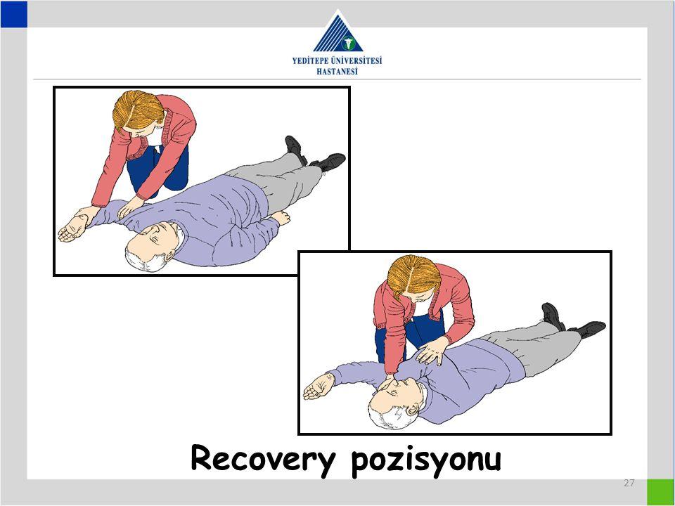 27 Recovery pozisyonu