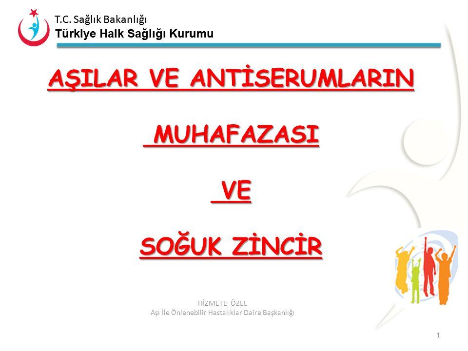 T.C. Sağlık Bakanlığı Türkiye Halk Sağlığı Kurumu T.C. Sağlık Bakanlığı Türkiye Halk Sağlığı Kurumu 1 HİZMETE ÖZEL Aşı İle Önlenebilir Hastalıklar Dai